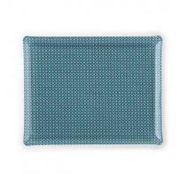 Plateau acrylique 46 x 36 Étoile bleu, Platex