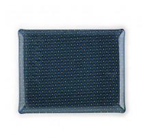Plateau acrylique 46 x 36 Doucet bleu, Platex