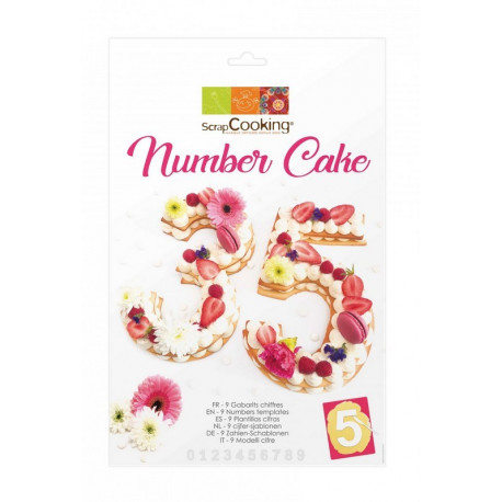Kit Number cake, ScrapCooking