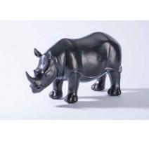 Statuette résine Rhinocéros, Emdé