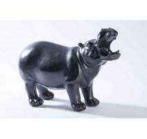 Statuette résine Hippopotame, Emdé
