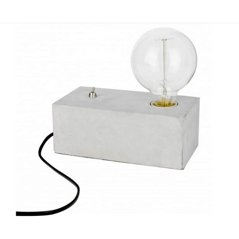 Vente À Chaise Original Poser Luminaire La Lampe Switch On Achat Lognue Béton OPZikXu