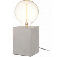 Lampe cube béton, La Chaise Longue