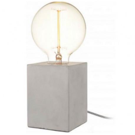 Lampe Cube Beton La Chaise Longue