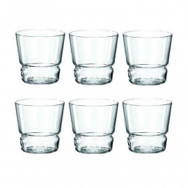 Coffret 6 gobelets en verre Limito, Léonardo