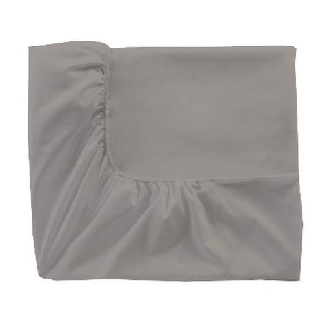 Drap housse Percale gris perle, Essix