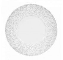 Assiette plate porcelaine Eole, Table Passion