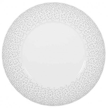 Assiette de présentation porcelaine Eole, Table Passion