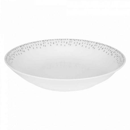 Assiette creuse porcelaine Eole, Table Passion