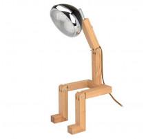 Lampe articulée bonhomme Noir, La Chaise Longue