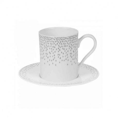 Tasse et sous-tasse à café Eole, Table Passion