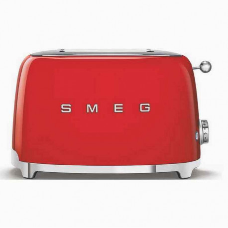 Toaster 2 tranches Années 50 Rouge, SMEG