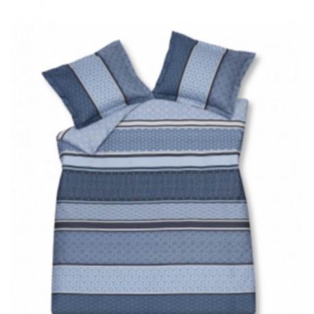 acheter ensemble housse de couette style vintage bleu. Black Bedroom Furniture Sets. Home Design Ideas