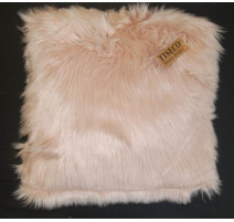 Coussin fausse fourrure, Tiseco