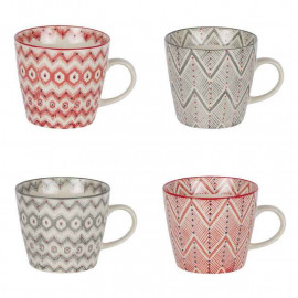 Coffret 4 tasses Santa Fe, Table Passion