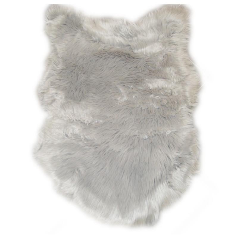 acheter tapis imitation peau de b te peau de mouton. Black Bedroom Furniture Sets. Home Design Ideas