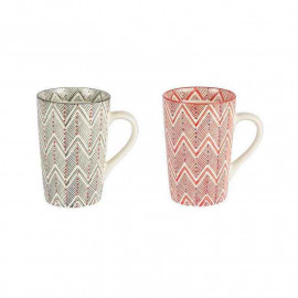 Coffret 2 mugs XL Santa Fe, Table Passion
