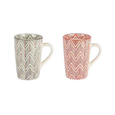 Coffret 2 mugs XL Santa Fe, Table Passion, Table passion