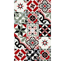 Tapis Ceramic rouge, Beaumont