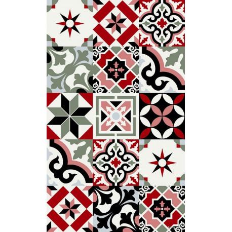 Tapis Ceramic rouge, Beaumont