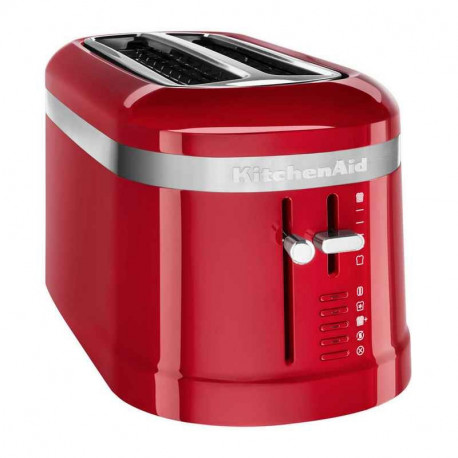 Grille-pain 4 tranches Design rouge, KitchenAid