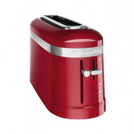 Grille-pain 2 tranches Design rouge, KitchenAid