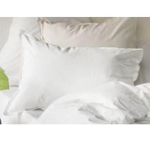 Taie d'oreiller Soft Line Blanc, Essix