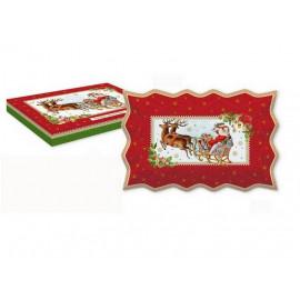 Plat à cake Christmas Vintage, Easy Life