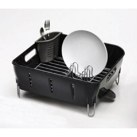 acheter gouttoir vaisselle noir simplehuman. Black Bedroom Furniture Sets. Home Design Ideas