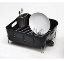 Égouttoir à vaisselle noir Simplehuman