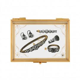 Boîte à bijoux Kate Poudre aux yeux, Derrière la porte