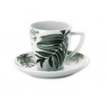 Tasse à café et sous tasse Belem, Bruno Evrard