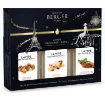 Coffret de 3 parfums Noël 2018, Lampe Berger