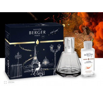 Coffret lampe berger Gem Noire, Lampe Berger