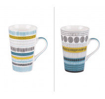 Coffret 2 mugs XL Maya, Table Passion