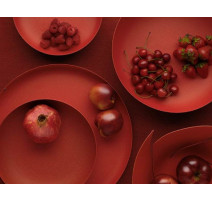 Plat rond 35 cm Texture & Colors, Alessi