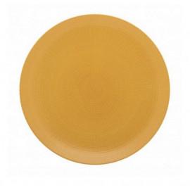 Assiette plate Modulo Nature Ocre, Guy Degrenne