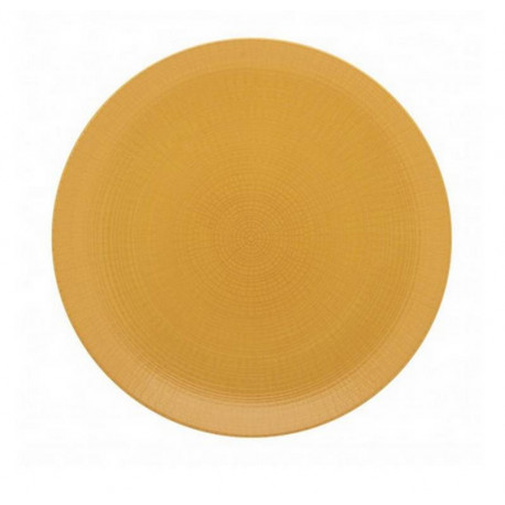 Assiette plate Modulo Nature Ocre, Guy Degrenne