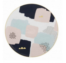 Assiette plate Abstraction, Guy Degrenne