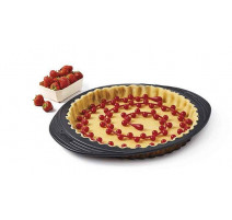 Chaîne de cuisson fond de tarte silicone, Mastrad
