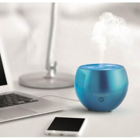 Diffuseur brume de parfum City Pop Bleu Turquoise, Esteban