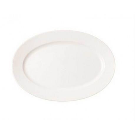 Plat Oval 33 cm Banquet, Rak Porcelain