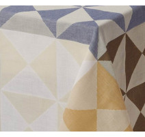Nappe Origami Polychrome, Le Jacquard Français
