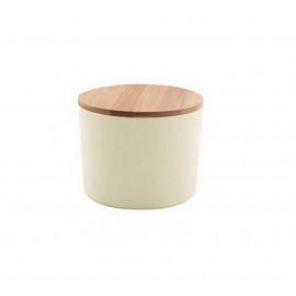 Boîte fibre de bambou MM Blanc Cassé, Point Virgule