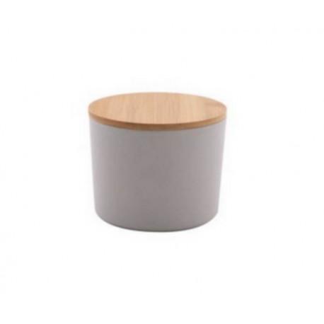 Boîte fibre de bambou MM gris, Point Virgule
