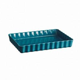 Plat à tarte rectangulaire Calanque, Emile Henry
