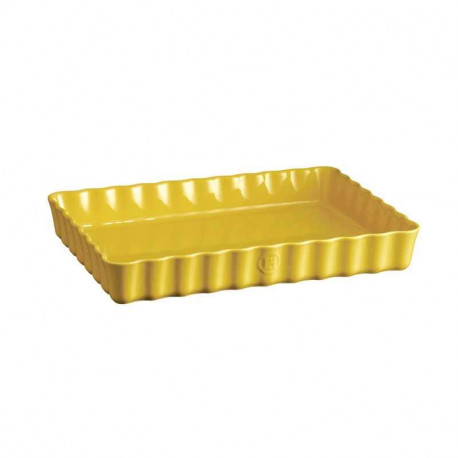 Plat à tarte rectangulaire Provence, Emile Henry