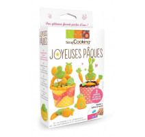 Kit modelage Joyeuses Pâques, ScrapCooking