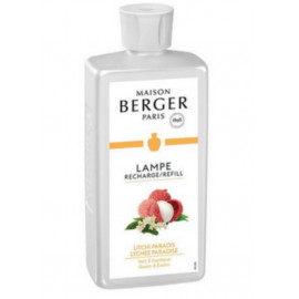 Parfum 500ml Litchi Paradis, Lampe Berger