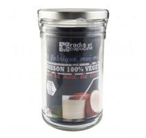 Kit boisson végétale noix de coco bio, Radis et capucine